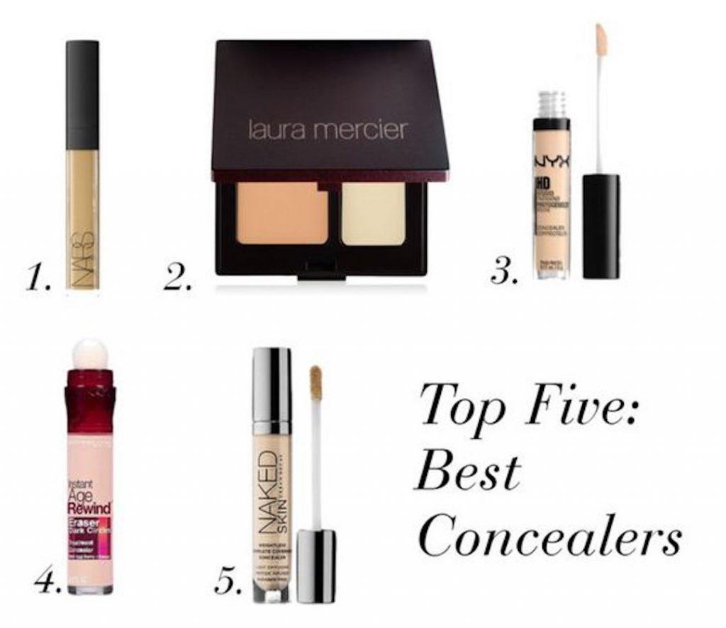 Top five best concealers