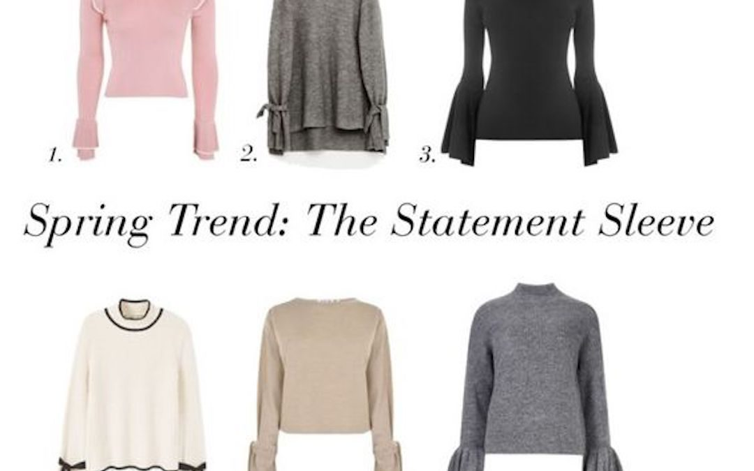 Spring Trend: The Statement Sleeve