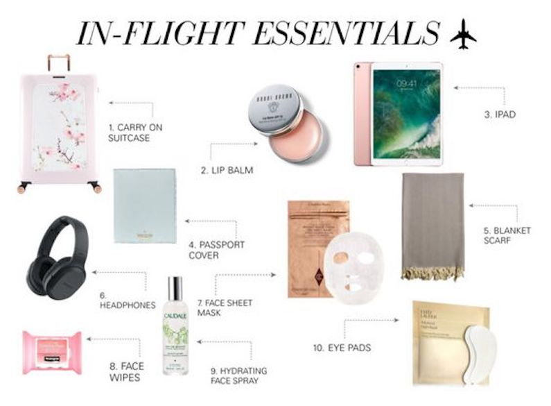 In-flight Essentials